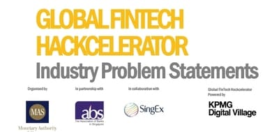 Blog header image for Addressing industry problem statements at Global FinTech Hackcelerator