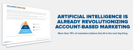 Blog header image for Is AI Essential for Account-Based Marketing?