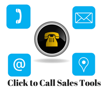 Blog header image for Click to Call Sales Tools and Techniques for Websites