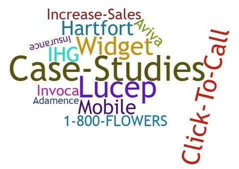 Blog header image for Case Studies – Increase Sales With a Click to Call Widget