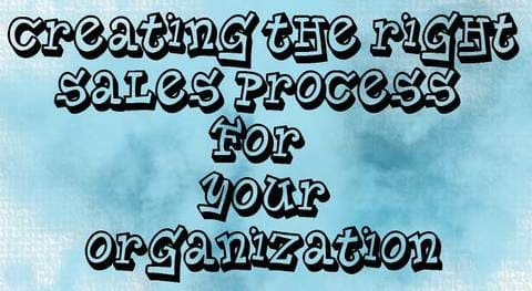 Blog header image for Creating the Right Sales Process for Your Organization