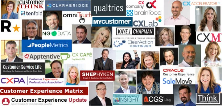Blog header image for Top 50 customer experience blogs and influencers