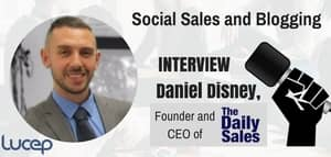 Blog header image for Interview with Daniel Disney, Founder of The Daily Sales Blog