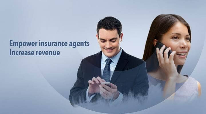 Blog header image for Empower Insurance Agents with a 360-degree View of the Customer