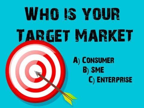 Blog header image for Who is Your Target Market – Consumer, SME or Enterprise?