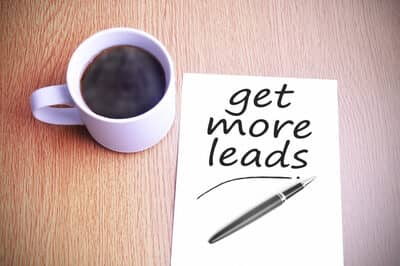 Blog header image for How to Get More B2B Leads From the Internet