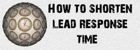 Blog header image for How to Shorten Lead Response Time