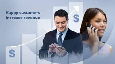 Blog header image for 4 ways to Increase Revenue with Customer Engagement