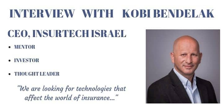 Blog header image for Talking insurtech startups, technology and investments with Kobi Bendelak