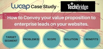 Blog header image for Lucep Case Study – How to Pitch Value to Enterprise Leads on Your Website