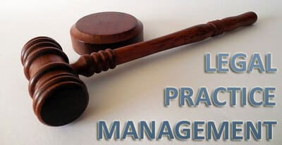 Blog header image for Practice Management CRM Solutions for Lawyers and Law Firms