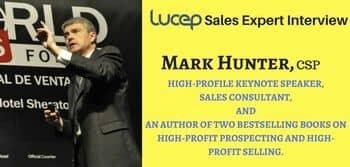 Blog header image for Mark Hunter Interview – Prospecting Tips From The Sales Hunter