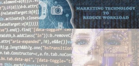 Blog header image for Marketing Technologies to Reduce Your Workload