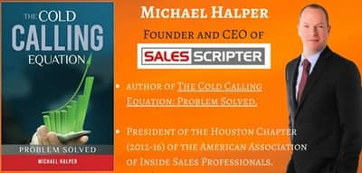 Blog header image for Sales Pitch Interview With Michael Halper