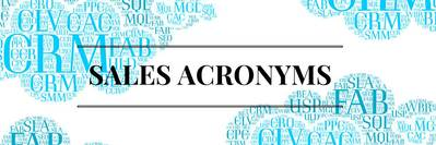 Blog header image for Powerful Three-Letter Sales Acronyms