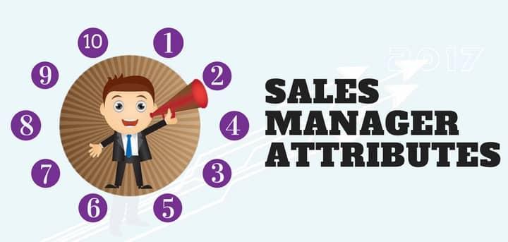 Blog header image for Sales Manager Job Description – 10 Attributes for Success