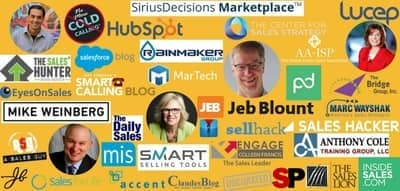 Blog header image for Our 50 Favourite Sales Blogs for 2019