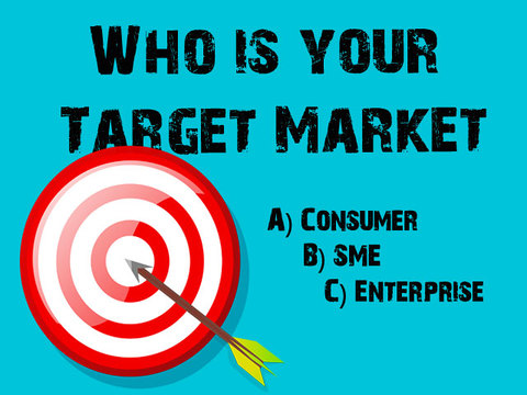 Lucep sales event - Who is Your Target Market?