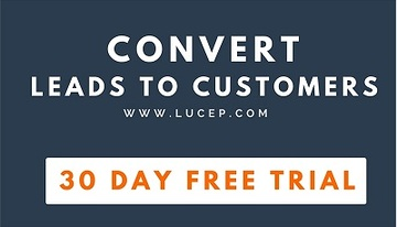 Lucep free trial - convert leads - Signup Now