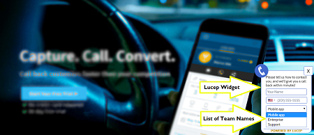 Lucep - Quick lead notification app