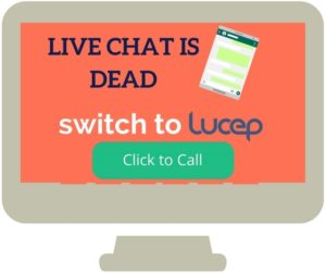 Live chat is dead