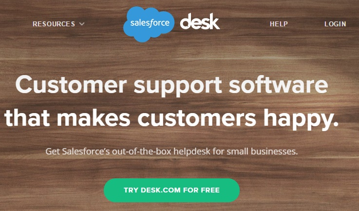 Desk.com customer support