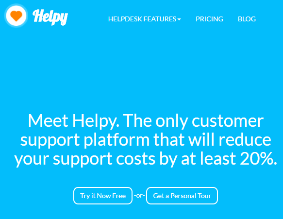 Helpy open source customer support tool