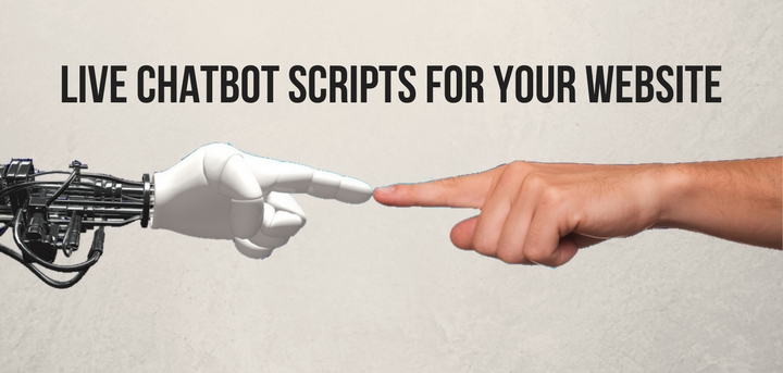 live chatbot scripts websit Lucep