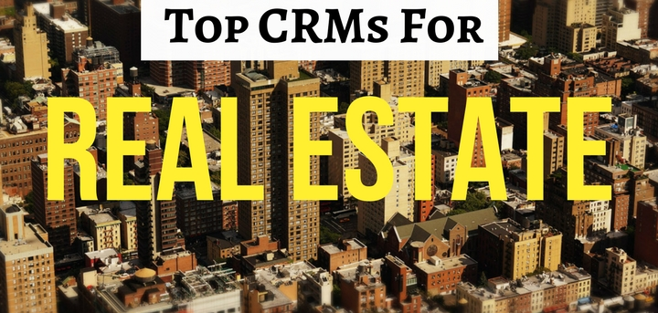 Top CRMs for real estate