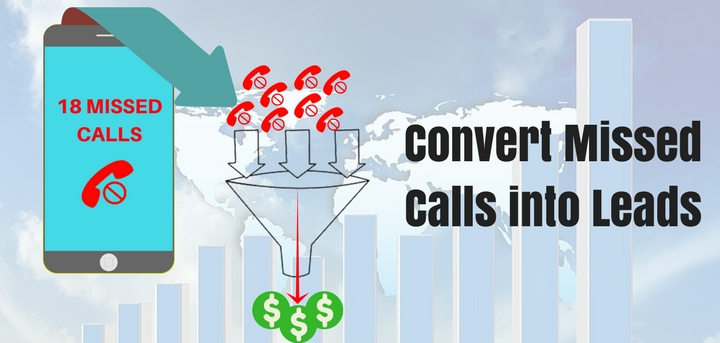 Convert missed calls into leads