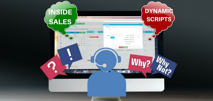 Dynamic inside sales call scripting