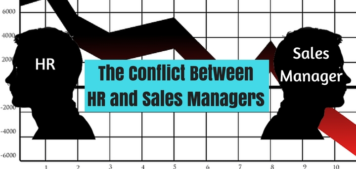 HR vs sales managers