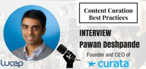 Interview with Pawan Deshpande, CEO, Curata