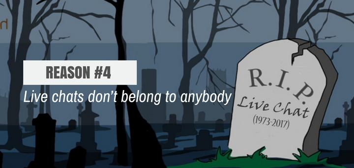 Live chat dead - Reason #4