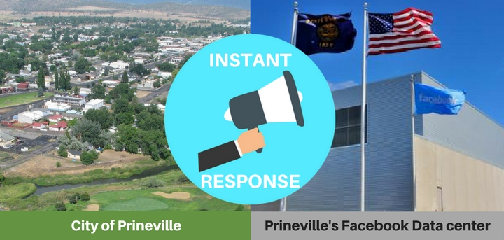 Prineville OR Facebook data center
