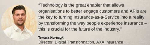 Tomasz Kurczyk, digital transformation, AXA insurance