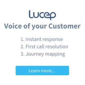 Lucep CX solutions - Voice of your customer