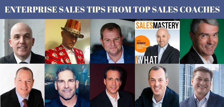 enterprise sales tips from coaches