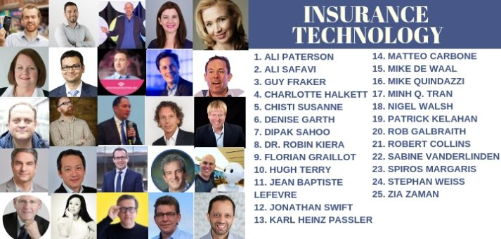 insurance insurtech influencers