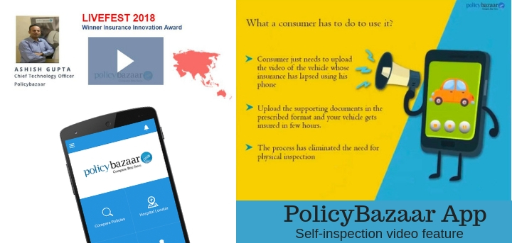 policybazaar app digital transformation