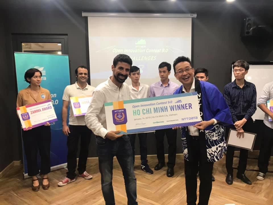 lucep zal dastur ntt open innovation contest winner