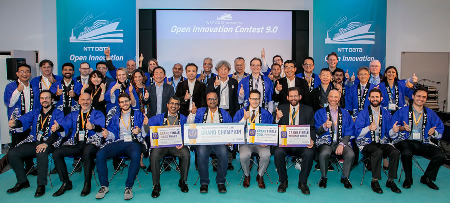 ntt data open innovation contest 9 grand finale